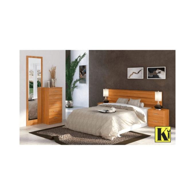 dormitorio matrimonio modelo d-06 cerezo