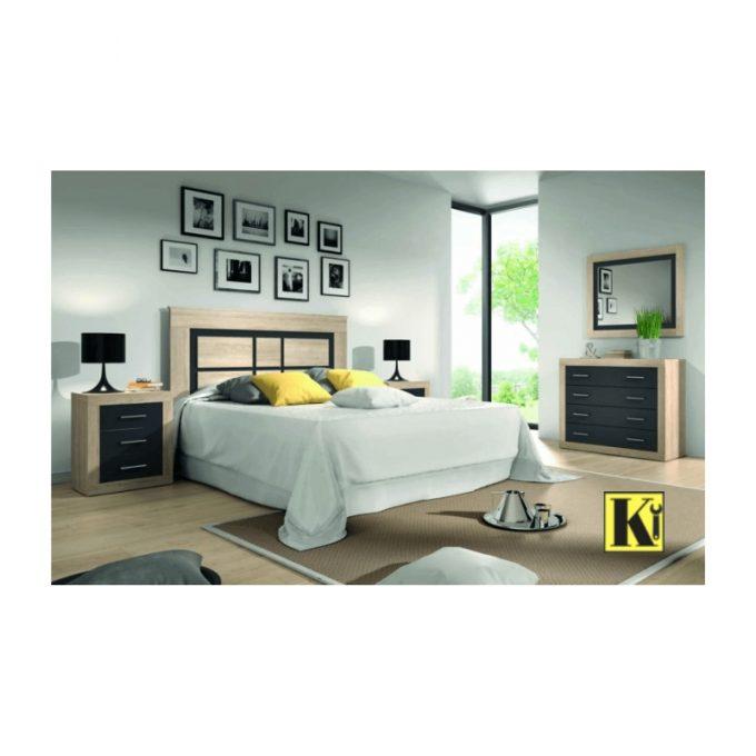 Dormitorio completo matrimonio modelo ld-01
