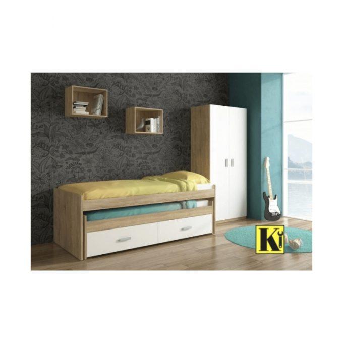 Dormitorio juvenil modelo cham-03