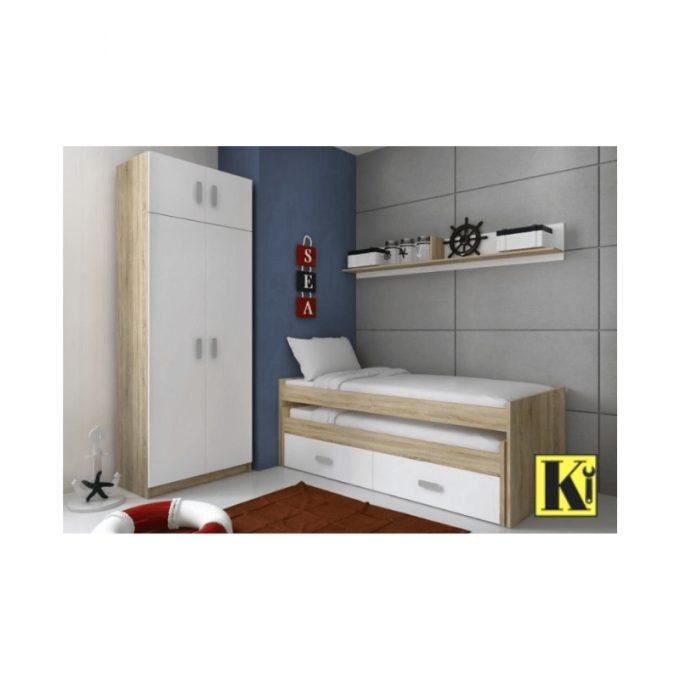 Dormitorio juvenil modelo cham-04