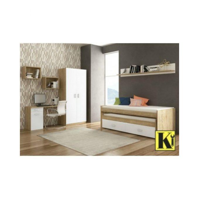 Dormitorio completo juvenil cham-05