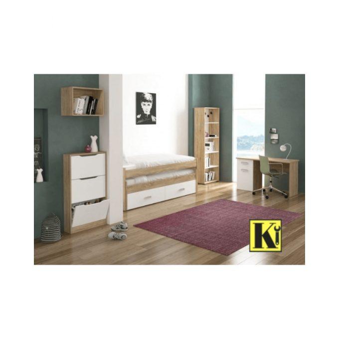 Dormitorio completo juvenil modelo cham-08