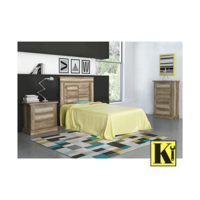 Dormitorio completo juvenil chd-07