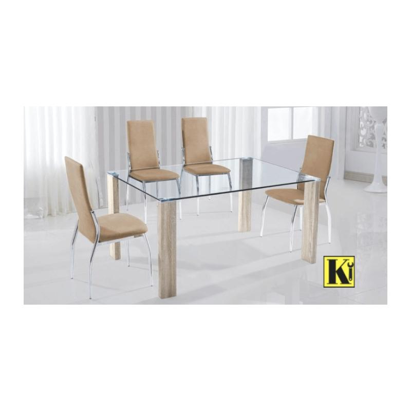 Pack mesa comedor + 6 sillas modelo HS-01