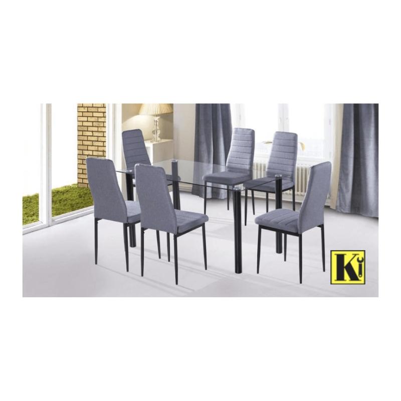 Pack mesa comedor + 6 sillas modelo YU-01