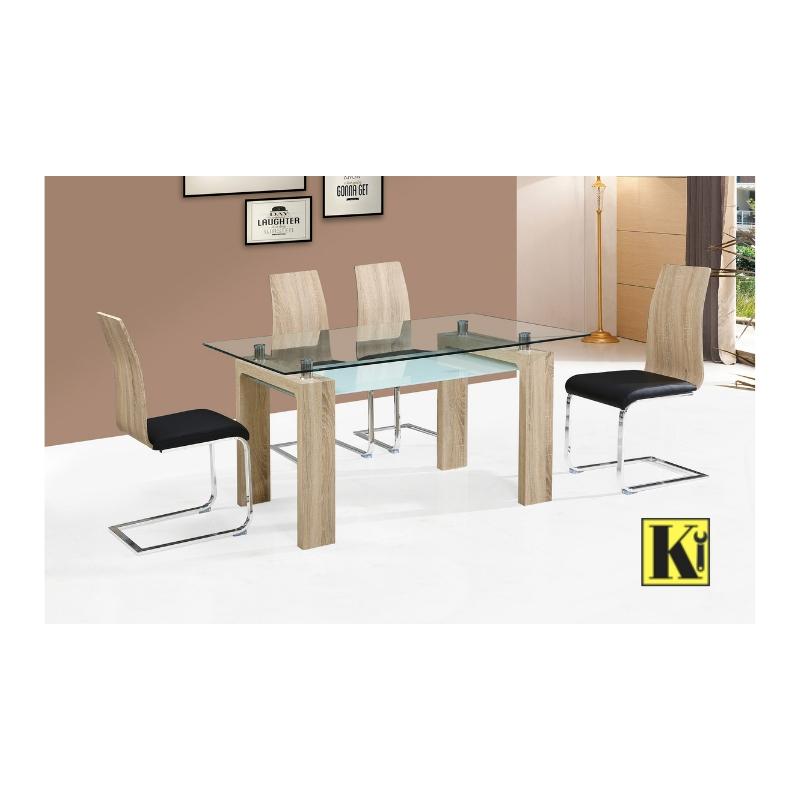 Pack mesa comedor + 4 sillas modelo SN-01
