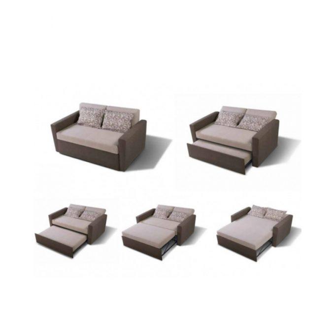 explicación sofa modelo kika con apertura de cama