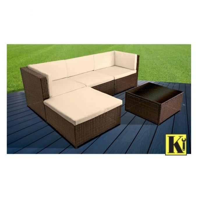 Mas Que Muelles | Muebles exterior | Conjunto de jardín | Modelo Santiago