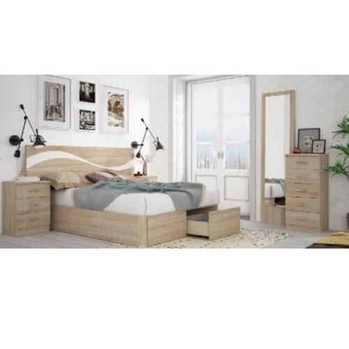 Mas Que Muelles | Dormitorios | Dormitorio modelo Dinas