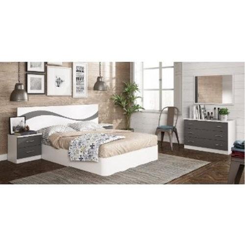 Mas Que Muelles | Dormitorios | Dormitorio modelo Sahara
